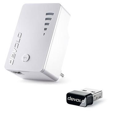 Devolo dLAN 1200 Wi-Fi AC (9790) + WiFi Stick AC