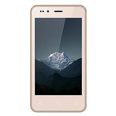 "Echo Smart Mini Or  Smartphone 3G+ Dual SIM - MTK6580 Quad-Core 1.3 GHz - RAM 512 Mo - Ecran tactile 4"" 480 x 840 - 4 Go - Bluetooth 4.0 - 1400 mAh - Android 5.0"