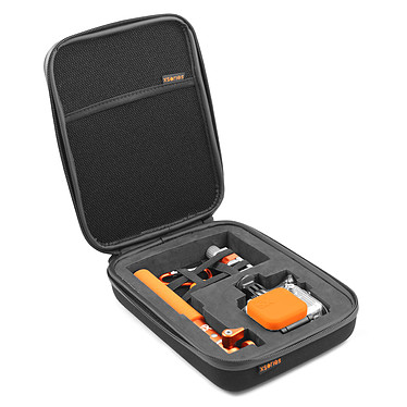 Acheter GoPro HERO 4 : Silver Edition + XSories capxule small case noir + Tripod Mount + Mini bendy noir