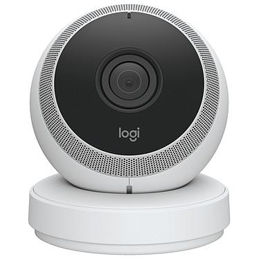 Logitech Circle Caméra de surveillance HD sans fil à vision nocturne avec angle de vision à 135°