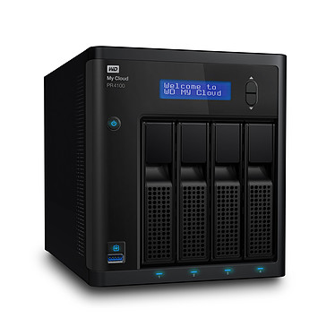 Avis WD My Cloud Série Pro PR4100 (sans disque)