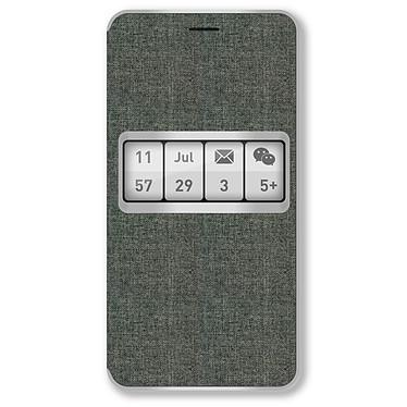 Wiko Etui Smart Folio Wiboard Gris Wiko Ufeel Etui folio pour Wiko Ufeel