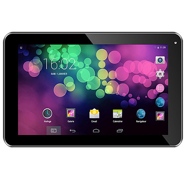 "Prestige Arrena-Dual 9.4"" Tablette Internet - RK3206 Dual-Core 512 Mo 4 Go 9"" LED tactile Wi-Fi Webcam Android 4.4"