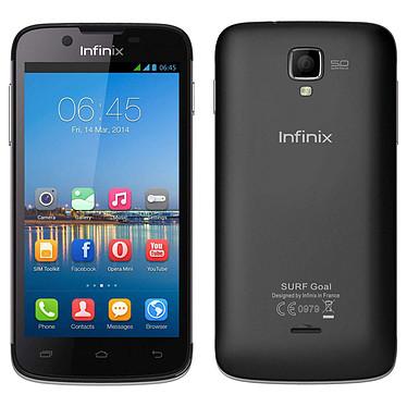 """Infinix Surf X452 Noir Smartphone 3G Dual SIM avec écran tactile 4.5"""" sous Android 4.2"""