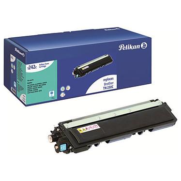 Pelikan toner compatible TN-230C (Cyan) + PeliCARE Toner cyan compatible Brother TN-230C (1 400 pages) avec 3 mois de garantie totale pour votre imprimante !