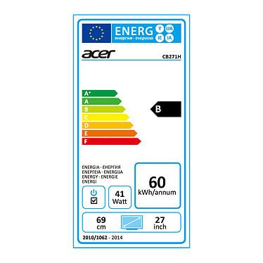 """Acer 27"""" LED - CB271HKbmjdprx pas cher"""