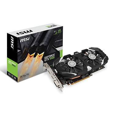 MSI GeForce GTX 1060 6GT OC 6144 Mo DVI/HDMI/Tri DisplayPort - PCI Express (NVIDIA GeForce avec CUDA GTX 1060)