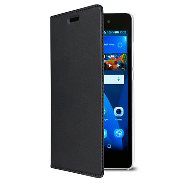 Swiss Charger Etui Folio Noir Huawei P8 Lite Etui de protection pour Huawei P8 Lite
