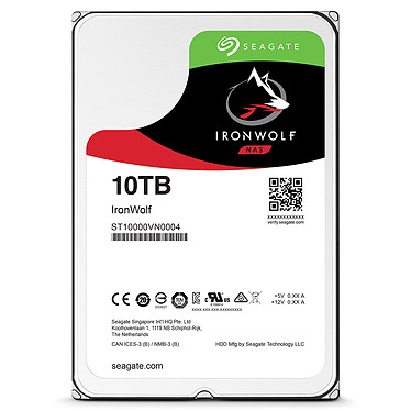 Seagate IronWolf 10 To (ST10000VN0004) pas cher