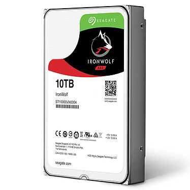 Acheter Seagate IronWolf 10 To (ST10000VN0004)