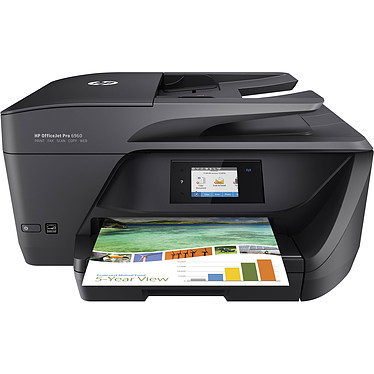 HP OfficeJet Pro 6960 Imprimante Multifonction jet d'encre couleur 4-en-1 recto-verso automatique (USB 2.0 / Ethernet / Wi-Fi)