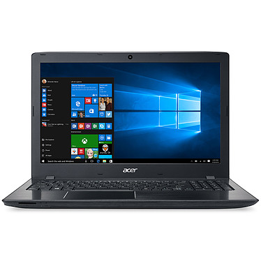 "Acer Aspire E5-575-38JY Intel Core i3-6100U 4 Go SSD 128 Go 15.6"" LED Full HD Graveur DVD Wi-Fi AC/Bluetooth Webcam Windows 10 Famille 64 bits"