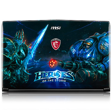 MSI GE62 6QD-452FR Apache Pro Heroes of the Storm + Pack Dragon Fever Summer OFFERT ! pas cher