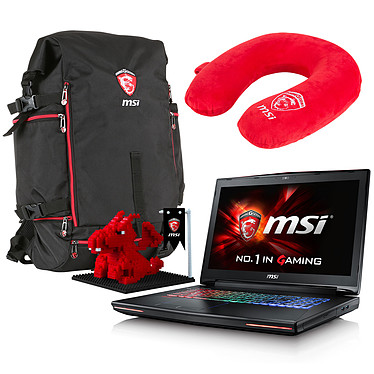 "MSI GT72S 6QD-086FR Dominator G + Pack Dragon Fever Summer OFFERT ! Intel Core i7-6820HK 16 Go SSD 128 Go + HDD 1 To 17.3"" LED Full HD G-SYNC NVIDIA GeForce GTX 970M Graveur DVD Wi-Fi AC/Bluetooth Webcam Windows 10 Famille 64 bits (garantie constructeur 1 an)"