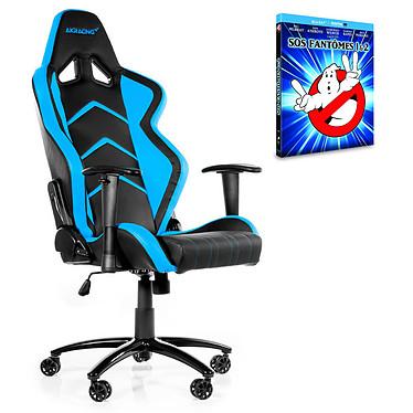 "AKRacing Player Gaming Chair (bleu) + coffret Blu-ray ""SOS Fantômes 1&2"" OFFERT !"