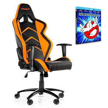 "AKRacing Player Gaming Chair (orange) + coffret Blu-ray ""SOS Fantômes 1&2"" OFFERT !"