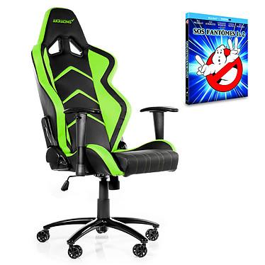 "AKRacing Player Gaming Chair (vert) + coffret Blu-ray ""SOS Fantômes 1&2"" OFFERT !"