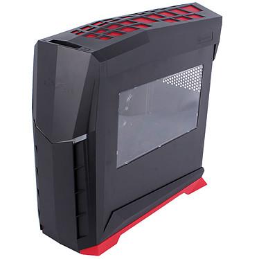 SilverStone Raven RVX01 Window (noir et rouge)