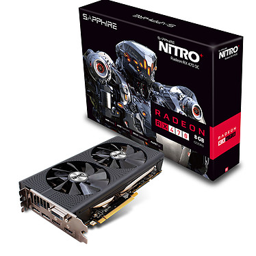 Sapphire NITRO+ Radeon RX 470 8GD5 (UEFI) OC