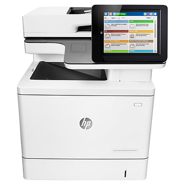 HP LaserJet Color Enterprise MFP M577dn Imprimante multifonction laser 3-en-1 couleur recto/verso automatique (USB 2.0/Ethernet 10/100/1000)