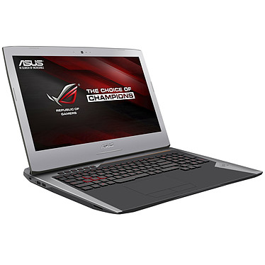 "ASUS G752VM-GC006T Intel Core i7-6700HQ 8 Go SSD 128 Go + HDD 1 To 17.3"" LED Full HD G-SYNC NVIDIA GeForce GTX 1060 Graveur DVD Wi-Fi AC/Bluetooth Webcam Windows 10 Famille 64 bits (garantie constructeur 2 ans)"
