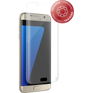 Force Glass Verre Trempé Galaxy S7 Edge Protège-écran transparent en verre trempé pour Samsung Galaxy S7 Edge