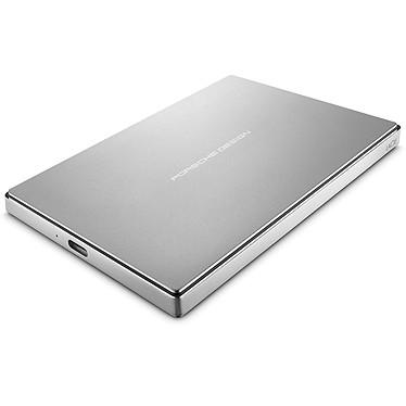 """LaCie Porsche Design Mobile Drive 2 To (USB 3.1) Disque dur externe 2.5"""" en aluminium sur port USB 3.1 Type-C (garantie LaCie 2 ans)"""