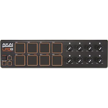 Akai Pro LPD8 Controlador MIDI 8 pads y 8 potenciómetros