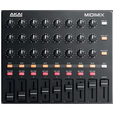Akai Pro MIDImix  Controlador 9 faders y 24 potenciómetros para el software Ableton Live