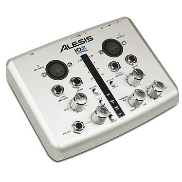 Alesis IO2 Express Interface audio USB 24 bits avec 2 entrées 2 sorties MIDI & USB