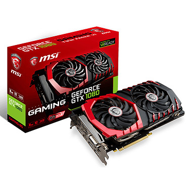MSI GeForce GTX 1080 GAMING 8G