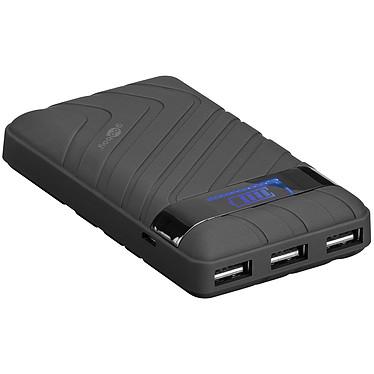 Power Bank 18 000 mAh 5 V 2 A con 3 puertos USB 2.0 y pantalla LCD