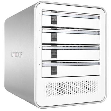 """ICY DOCK MB561U3S-4S-R1 Blanc Boîtier externe pour 4 disques durs 2.5"""" & 3.5"""" SATA HDD/SSD sur ports USB 3.0 / e-SATA"""