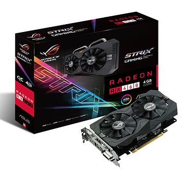 ASUS STRIX-RX460-O4G-GAMING 4 Go DVI/HDMI/DisplayPort - PCI Express (AMD Radeon RX 460)