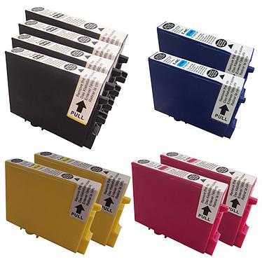 Megapack cartouches compatibles Epson T044 (Noir, Cyan, Magenta et jaune)