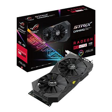 ASUS STRIX-RX470-O4G-GAMING 4 Go Dual DVI/HDMI/DisplayPort - PCI Express (AMD Radeon RX 470)