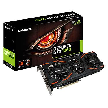 Gigabyte GeForce GTX 1080 WINDFORCE OC GV-N1080WF3OC-8GD 8192 Mo DVI/HDMI/Tri DisplayPort - PCI Express (NVIDIA GeForce avec CUDA GTX 1080)
