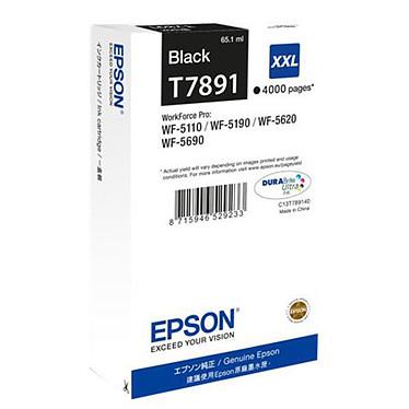 Epson T7891 (C13T789140) Cartouche d'encre Noire XXL (4 000 pages à 5%)