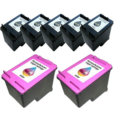 Megapack cartouches compatibles HP 301XL (Noir, Cyan, Magenta et jaune)