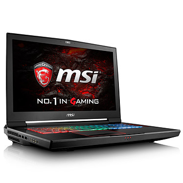 "MSI GT73EVR 7RE-827FR Titan Intel Core i7-7700HQ 16 Go SSD 256 Go + HDD 1 To 17.3"" LED Full HD 120 Hz NVIDIA GeForce GTX 1070 8 Go Wi-Fi AC/Bluetooth Webcam Windows 10 Famille 64 bits (garantie constructeur 2 ans)"