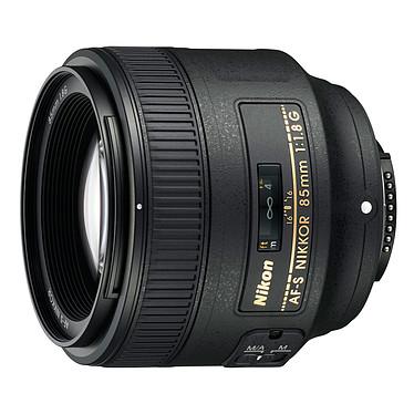 Nikon AF-S Nikkor 85mm f/1.8G Téléobjectif moyen au format FX et DX