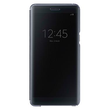 Samsung Clear View Cover Noir Samsung Galaxy Note7 Etui à rabat avec affichage date/heure pour Samsung Galaxy Note7