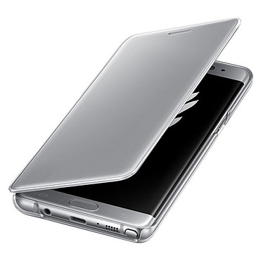 Avis Samsung Clear View Cover Argent Samsung Galaxy Note7