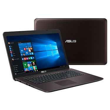 "ASUS X756UA-TY337T Intel Core i3-6006U 4 Go 1 To 17.3"" LED HD+ Graveur DVD Wi-Fi AC/Bluetooth Webcam Windows 10 Famille 64 bits (Garantie constructeur 2 ans)"