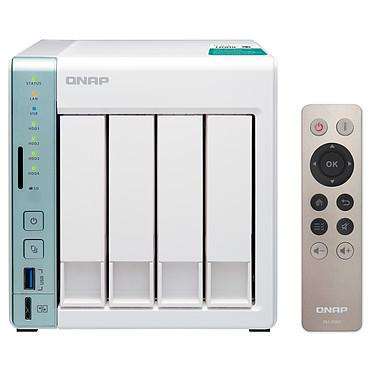 QNAP TS-451A-2G Servidor NAS 4 ranuras con 2 GB de RAM y procesador Dual-Core Intel Celeron N3060 1.6 GHz  (sin disco duro)