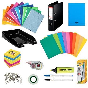 Pack Fournitures Office Pack complet de fournitures de bureau pour 5 personnes