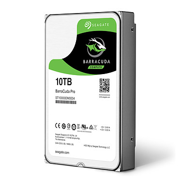 Seagate BarraCuda Pro 10 To (ST10000DM0004) pas cher