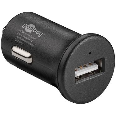 Chargeur rapide USB 2.4A sur prise allume-cigare (noir) Chargeur allume-cigare USB universel et compact (compatible tablette, smartphone...) avec charge rapide Quick Charge QC3.0