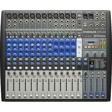 PreSonus StudioLive AR16 USB Mezclador híbrido USB de 18 canales