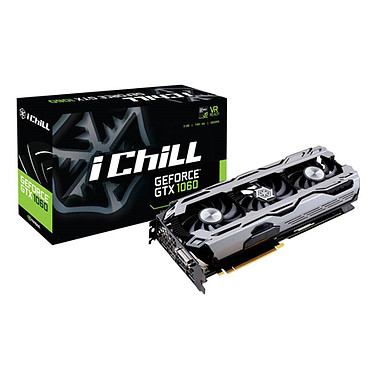 Inno3D iChill GeForce GTX 1060 3GB X3 3072 Mo DVI/HDMI/Tri DisplayPort - PCI Express (NVIDIA GeForce avec CUDA GTX 1060)